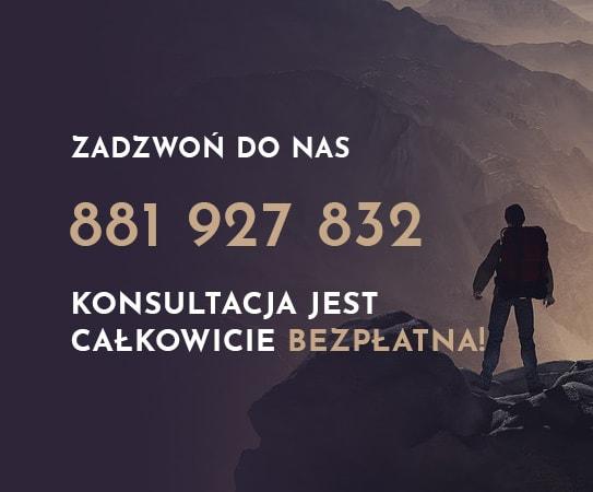 zadzwoń po bezpłatne konsultacje odnośnie restrukturyzacji